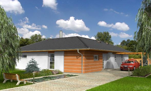 Winkel Bungalow - wohnen wie im Urlaub. Stadthäuser, Wohnhäuser, Villen, Reihenhäuser vom Bauträger bzw. von Baufirmen in der Region Ostwürttemberg.